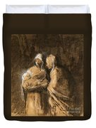 Daumier: Virgin & Child Duvet Cover