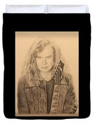 Dave Mustaine Duvet Cover