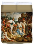 David And Abigail Duvet Cover