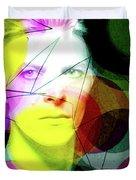 David Bowie Futuro  Duvet Cover