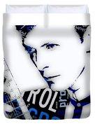 David Bowie Ground Control To Major Tom Duvet Cover
