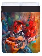 David Bowie In Space Oddity Duvet Cover