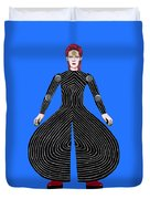 David Bowie - Moonage Daydream Duvet Cover
