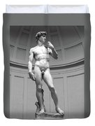 David By Michelangelo Duvet Cover