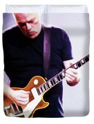 David Gilmour By Nixo Duvet Cover