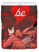 David Hasselhoff Valentine' Day Duvet Cover