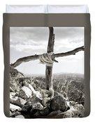 David's Memorial Duvet Cover