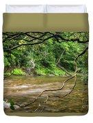 Davidson River Duvet Cover