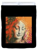 Davinci's Head Duvet Cover
