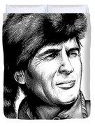 Davy Crockett Duvet Cover
