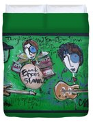 Davy Knowles And Back Door Slam Duvet Cover by Laurie Maves ART