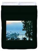 Dawn At Bay Colony Duvet Cover