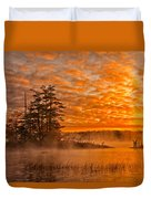 Dawn At Oakfield Provincial Park Duvet Cover