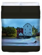 Dawn At Phelps Mill Duvet Cover