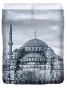 Dawn At The Blue Mosque Duvet Cover