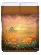 Dawn Blessings On The Farm Duvet Cover