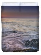 Dawn Breaks At Cape May Duvet Cover