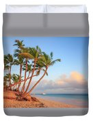 Dawn In Punta Cana Duvet Cover
