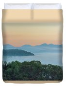 Dawn In The Smokies Duvet Cover