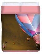 Dawn Launch Balloon Fiestas Albuquerque New Mexico  Duvet Cover