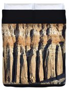 Dawn Light On The Cliffs At Red Rock Duvet Cover