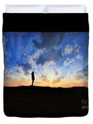 Dawn Of A New Day Sunrise 140a Duvet Cover