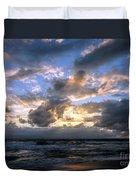 Dawn Of A New Day Treasure Coast Florida Seascape Sunrise 138 Duvet Cover