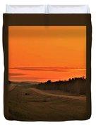 Dawn On Highway 61 Duvet Cover