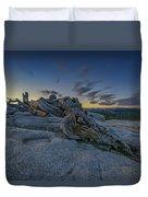 Dawn On Sentinel Duvet Cover