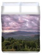 Dawn On The Foothills Parkway Duvet Cover by Jemmy Archer