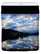 Dawn Over Big Sky Duvet Cover
