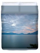 Dawn Over The Volcano 5 Duvet Cover