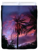 Dawn Palm 03 Duvet Cover