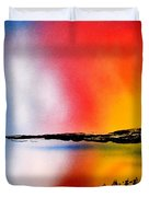 Dawn Twilight Duvet Cover