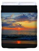 Dawning Flight Duvet Cover