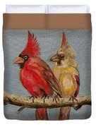 Dawn's Cardinals Duvet Cover