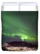 Dawson City Lights Duvet Cover