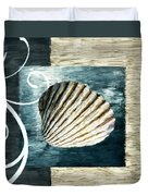 Day At The Beach Duvet Cover by Lourry Legarde