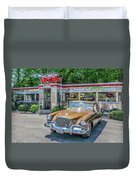Day At The Diner Duvet Cover