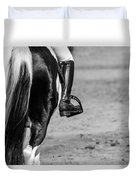 Day At The Dressage Duvet Cover