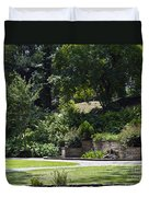 Day At The Park Duvet Cover