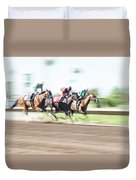 Day At The Races Duvet Cover