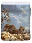 Day By The Baltic Sea Duvet Cover