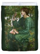 Day Dream Duvet Cover by Dante Charles Gabriel Rossetti
