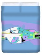 Day Flight Duvet Cover