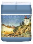 Day Is Done 2015 Duvet Cover