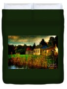 Day Is Done Duvet Cover by Lois Bryan