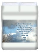 Day Light Duvet Cover by Leona Atkinson