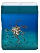 Day Octopus Duvet Cover