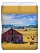 Day Of August Duvet Cover